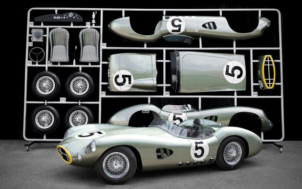 Evanta-Aston Martin DBR1 1:1 Scale Model