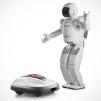 Honda Miimo Robotic Lawnmower with ASIMO