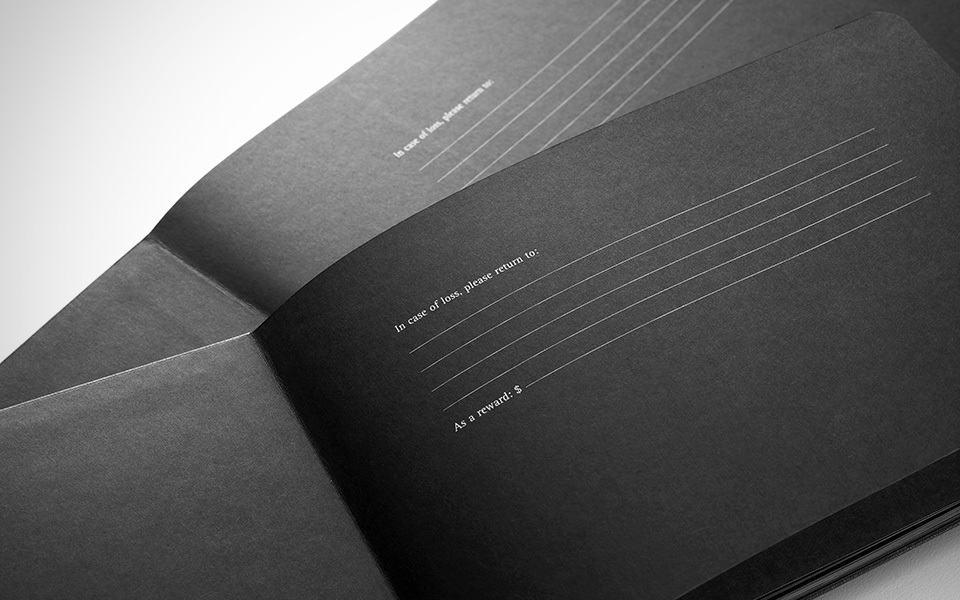 Moleskine Black Page Album Fluorescent Pen Shouts