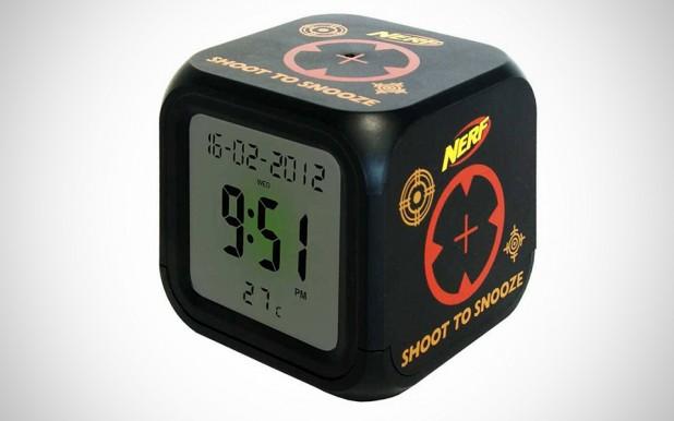 Nerf Shoot to Snooze Alarm
