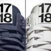 Nike DSM AF1 in classic navy (L) and summer ecru (R)