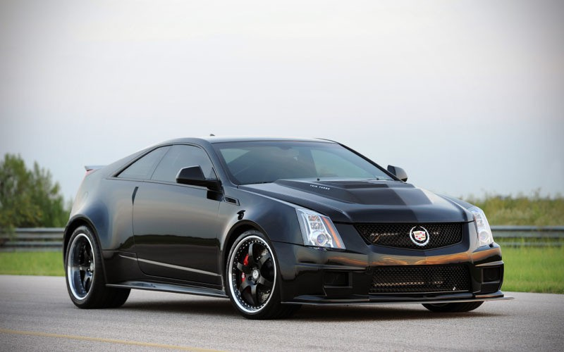 2013 Cadillac CTS-V Coupe by Hennessey Performance - MIKESHOUTS
