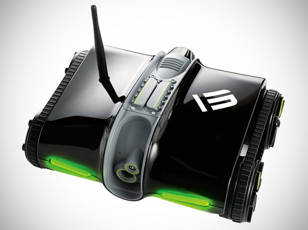 Brookstone Rover 2.0 App-Controlled Spy Tank
