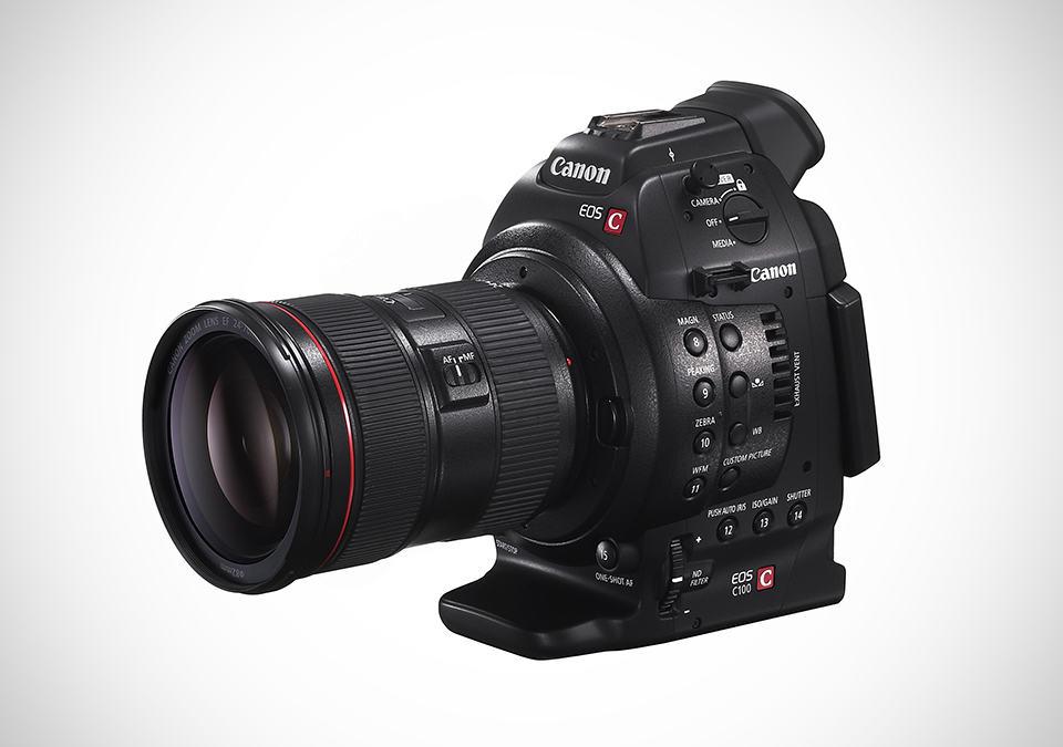 Canon EOS C100 Digital Video Camera - MIKESHOUTS