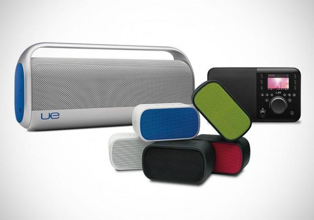 Logitech UE Boomboxes and Radio