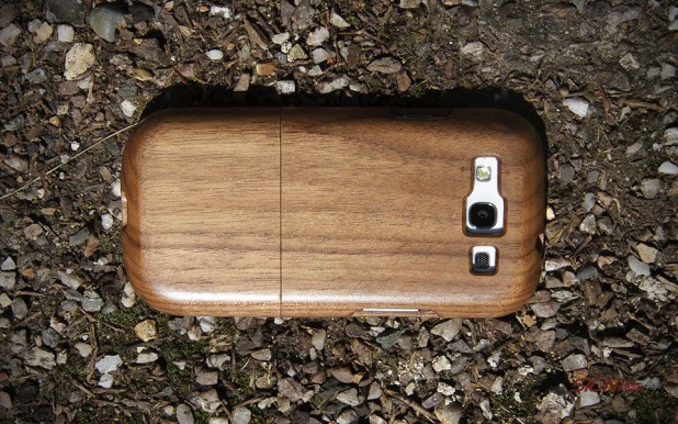 Natural Wood Cases for Samsung Galaxy S III Walnut
