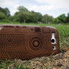 Natural Wood Cases for Samsung Galaxy S III Walnut M1 Camera Hive