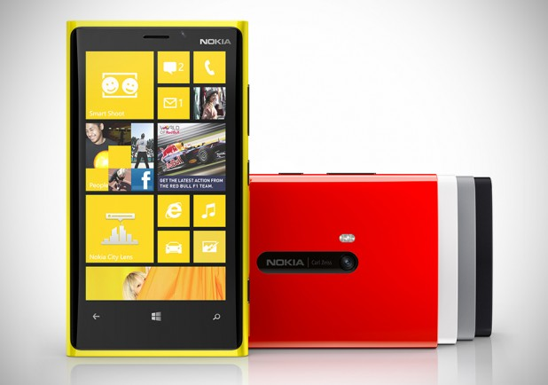 Nokia Lumia 920 Windows Phone 8 Color Range