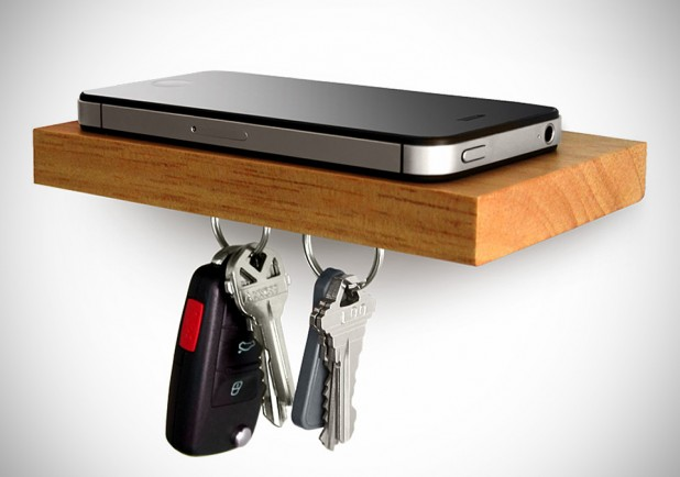 PLANK Magnetic Floating iPhone Shelf