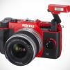 Pentax Q10 Digital Camera in Red