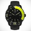 SKYWATCH Black IP 3-Hand Black & Neon Green