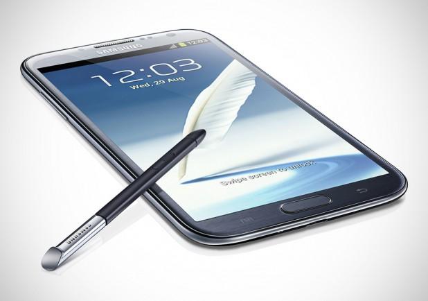 Samsung GALAXY Note II in Titanium Gray