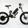 Stealth The Bomber Electric Bicycle in Snow White