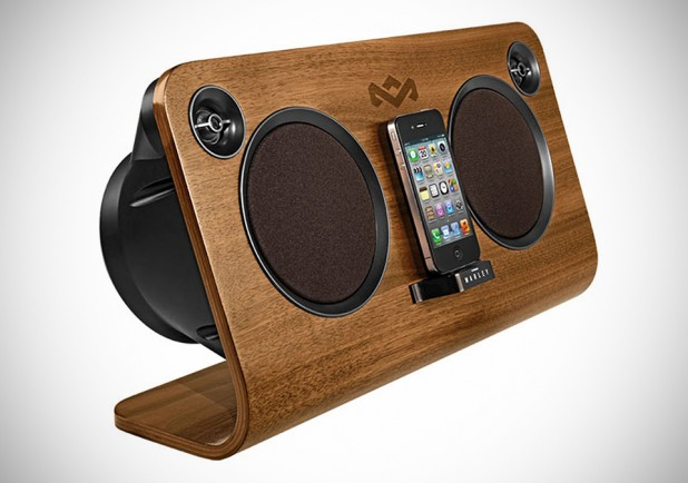 The House of Marley Get Up Stand Up Home Audio System