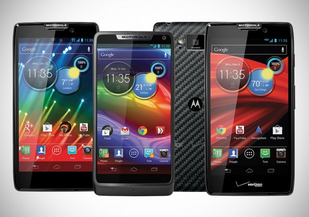 Three New Motorola RAZR Smartphones: RAZR HD; RAZR M; & DROID RAZR MAXX HD
