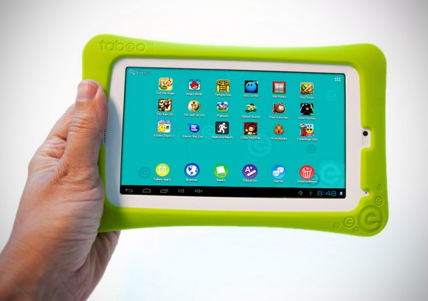 """Tabeo Tablet by Toy """"R"""" Us with bundled bumper"""