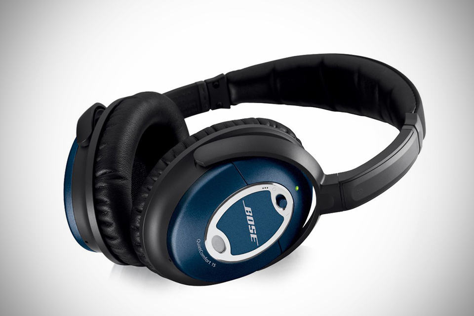 Bose QuietComfort 15 Limited Edition Blue - MIKESHOUTS