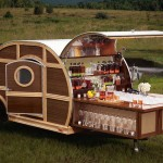 Bulleit Woody Tailgate Trailer