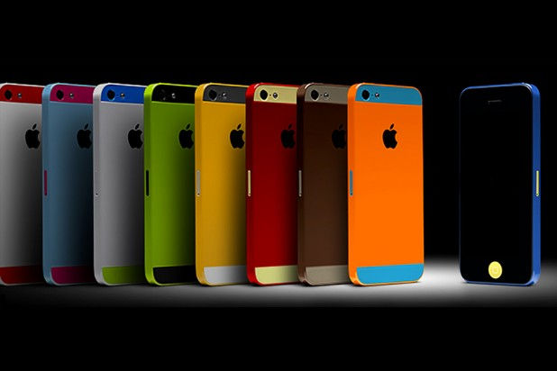 Colorware iPhone 5 colors - sample family