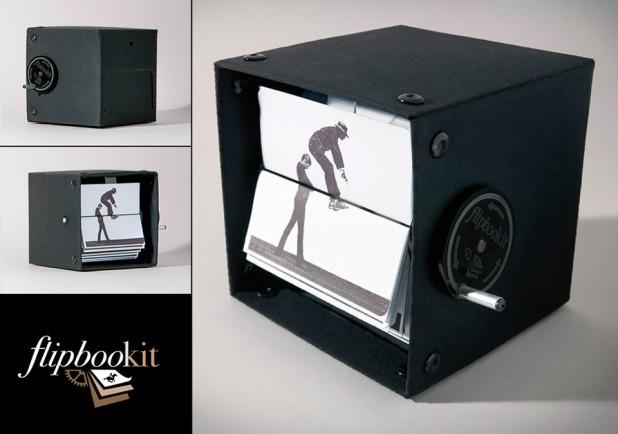 FlipBooKit - Mechanical Flipbook Art & Kit