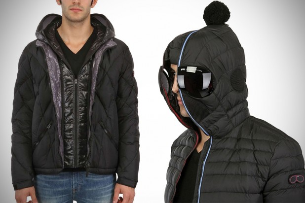 AI Riders on the Storm Jacket with integrated Goggles