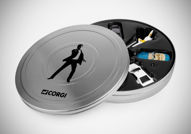 James Bond 007 Miniature Vehicles Set
