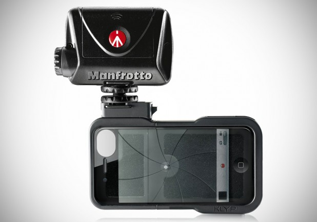 KLYP case with ML240 LED light by Manfrotto
