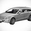 Mercedes-Benz CLS Shooting Brake 1:18 Scale in design magno allanite grey