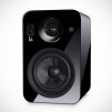 Roth OLi POWA-5 Active Monitors - High-Gloss Black Angled