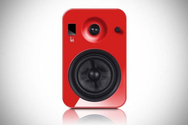 Roth OLi POWA-5 Active Monitors - High-Gloss Red