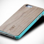 AViiQ Thin Wood Trim Case for iPhone 5
