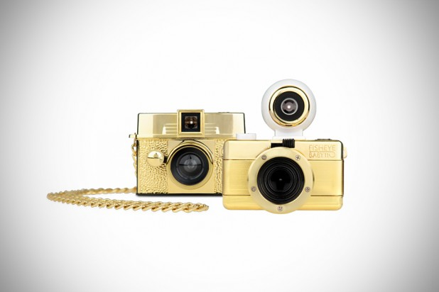 Lomography Diana Baby and Fisheye Baby Gold Editions