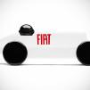 Fiat Mefistofele by Playsam white with Fiat name