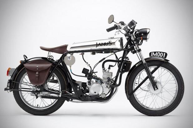 Janus Halcyon 50 Motorcycle