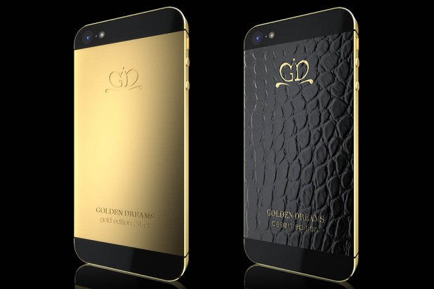 Luxury iPhone 5 by Golden Dreams