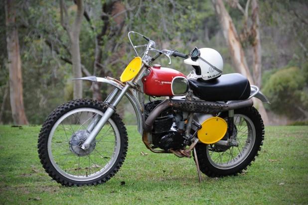 Steve McQueen's 1970 Husqvarna 400 Cross