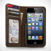 Twelve South BookBook for iPhone 5 - Vintage Brown