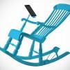 iRock Rocking Chair Blue