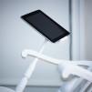 iRock Rocking Chair White Closeup
