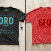 Cities T-Shirts by Pilot and Captain Chicago-ORD and San Francisco-SFO