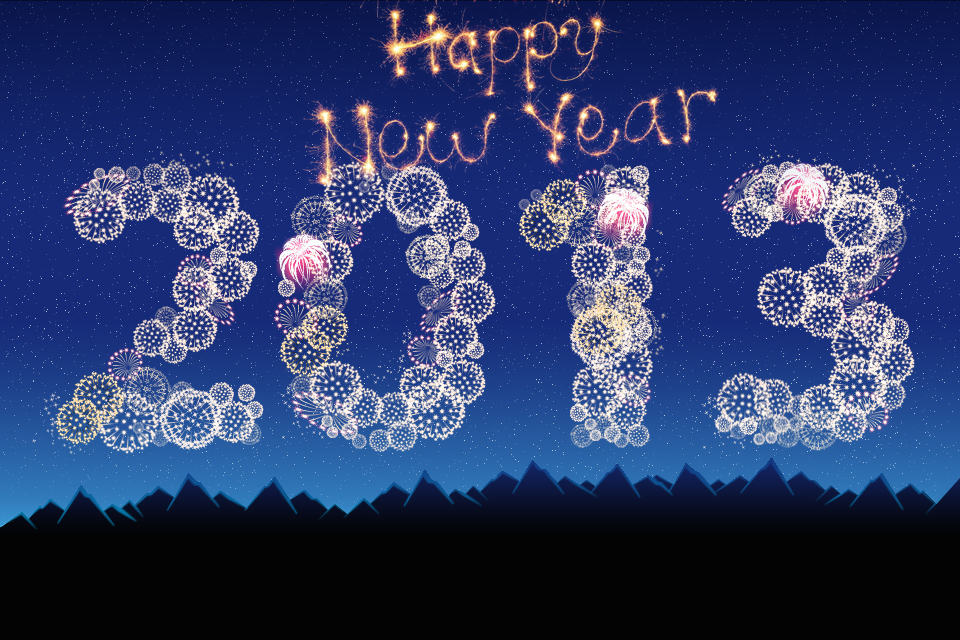 Wishing everyone a Very Happy New Year!