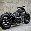 Harley Fat Boy Shadow Rocket by Rough Crafts