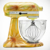 Limited Edition KitchenAid Hand-Painted Stand Mixer - Golden Petal