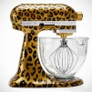 Limited Edition KitchenAid Hand-Painted Stand Mixer - Leopard