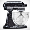 Limited Edition KitchenAid Hand-Painted Stand Mixer - Noir Leopard