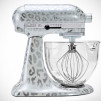 Limited Edition KitchenAid Hand-Painted Stand Mixer - Snow Leopard