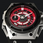 Linde Wedelin SpidoLite II Titanium Red Watch