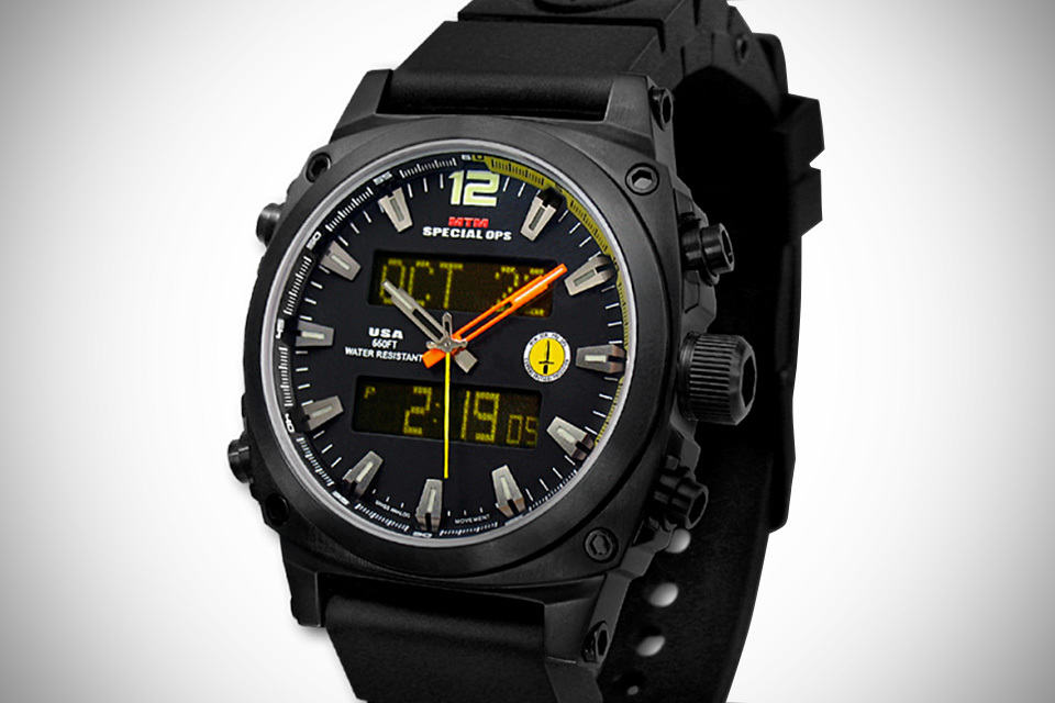 Mtm Special Ops Black Air Stryk Military Watch Mikeshouts