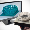 The Form 1 High-Res 3D Printer - software and printed product