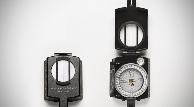 The Lensatic Cruiser Compass by Best Made Company